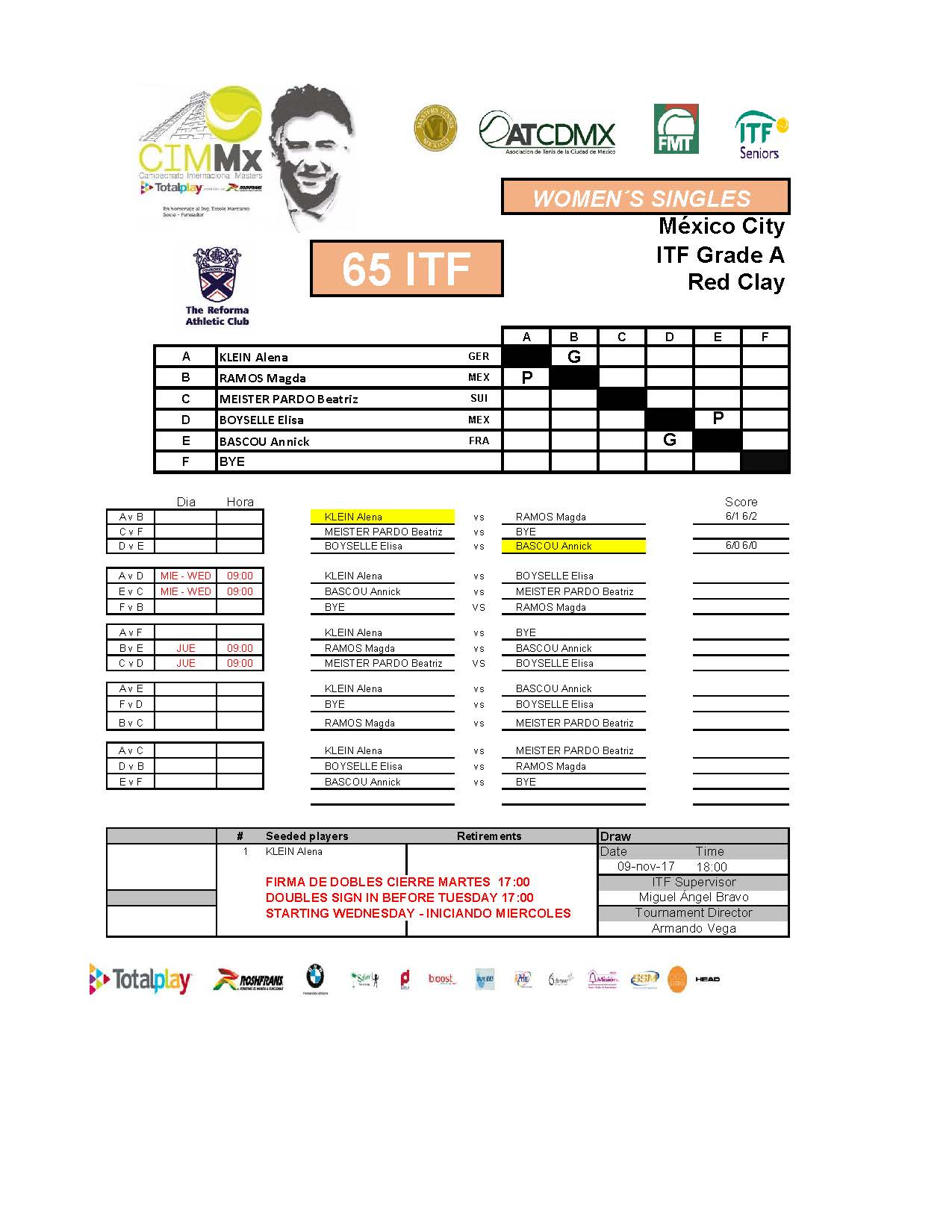 2   Draws ITF15NOV Página 06