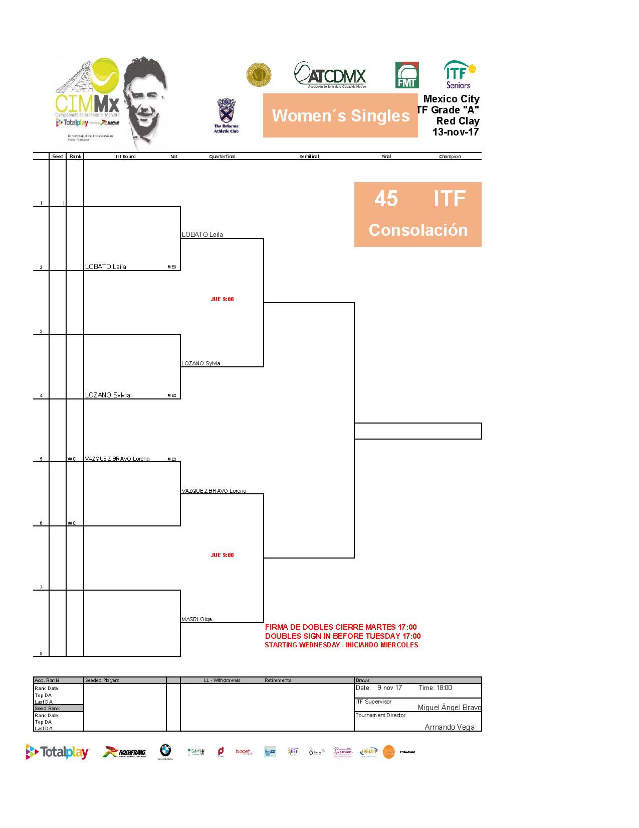 2   Draws ITF15NOV Página 18