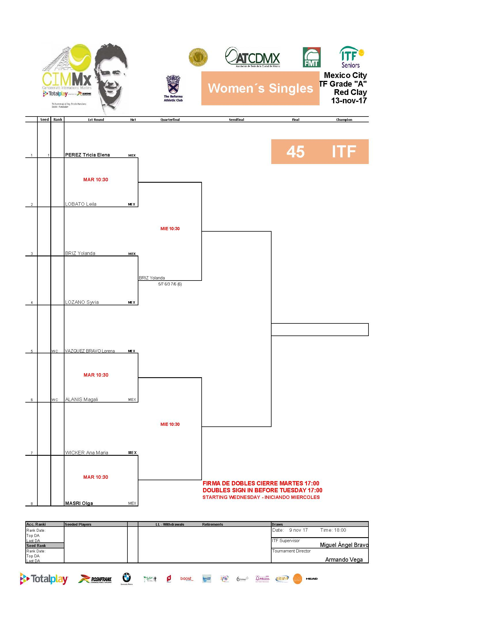 2   Draws ITF Pa Gina 02