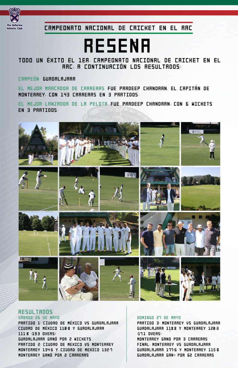 Resena De Cricket