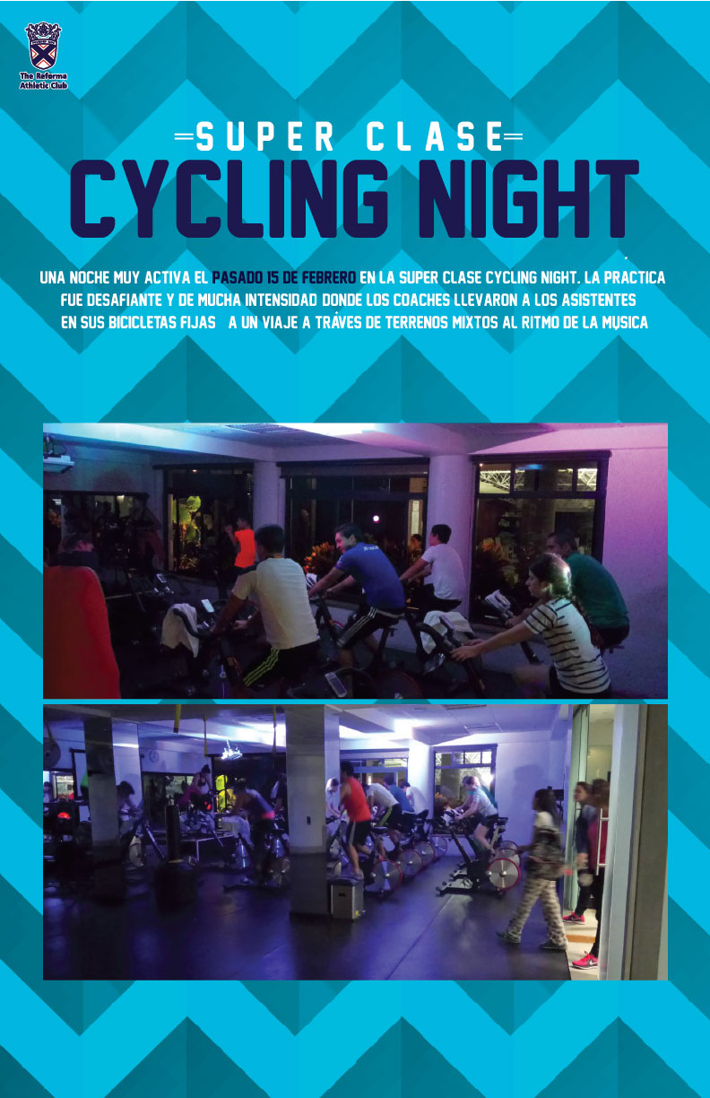 Super Clase Cycling Night