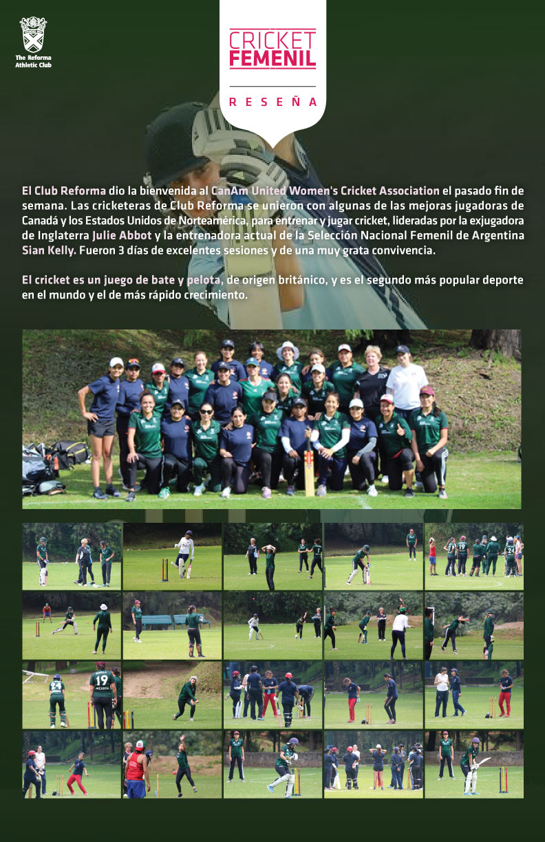 cricket femenil