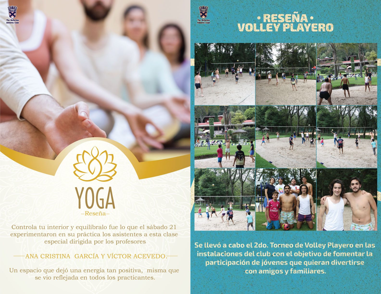 Voley Y Yoga